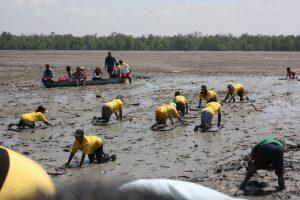 Festival Menongkah @ Pantai Bidari Desa Tanjung Pasir Kecamatan Tanah Merah